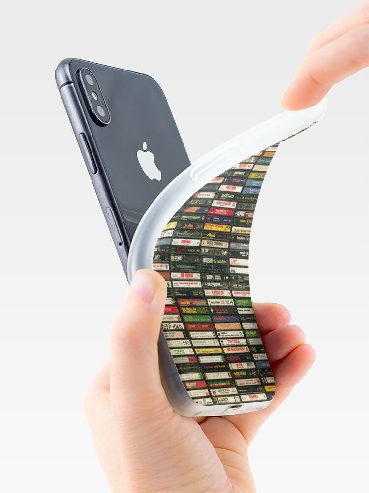 Vista alternativa de Funda y vinilo para iPhone Cintas y cintas y cintas