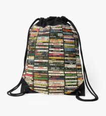 Tapes and Tapes and Tapes Drawstring Bag