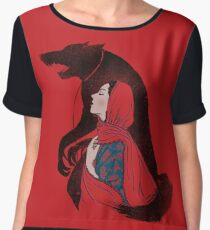 Taming of the wolf Chiffon Top