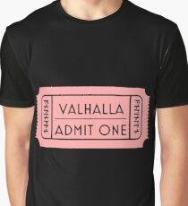 Valhalla Admit Ticket Graphic T-Shirt
