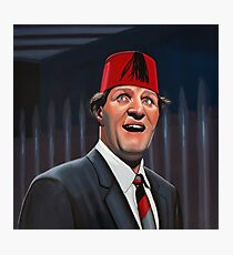 Tommy Cooper Painting Photographic Print