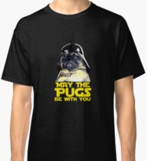 Funny Star Wars May The Pugs Be With You Classic T-Shirt