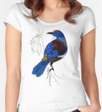 Tui - New Zealand bird Women's Fitted Scoop T-Shirt