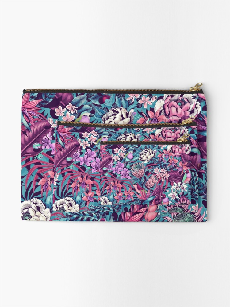 Alternate view of Stand Out! (ultraviolet 2) Zipper Pouch