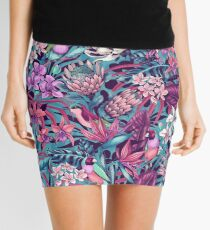 Stand Out! (ultraviolet 2) Mini Skirt