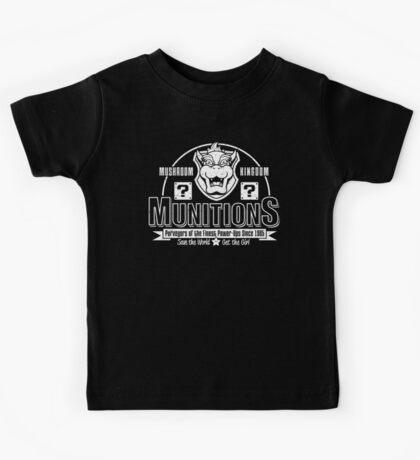 Mushroom Kingdom Munitions Kids Clothes