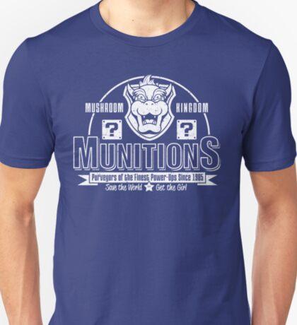 Mushroom Kingdom Munitions T-Shirt