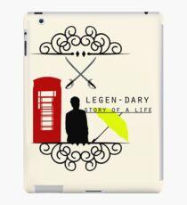 LEGGEN-DARY LIFE iPad Case/Skin