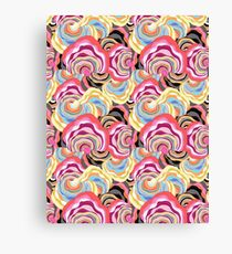 abstract color pattern Canvas Print