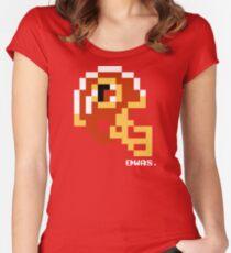 WASH Helmet - Tecmo Bowl Shirt Women's Fitted Scoop T-Shirt