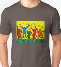 Keith Haring Beer Parody Unisex T-Shirt