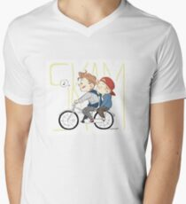 SKAM: EVAK Men's V-Neck T-Shirt
