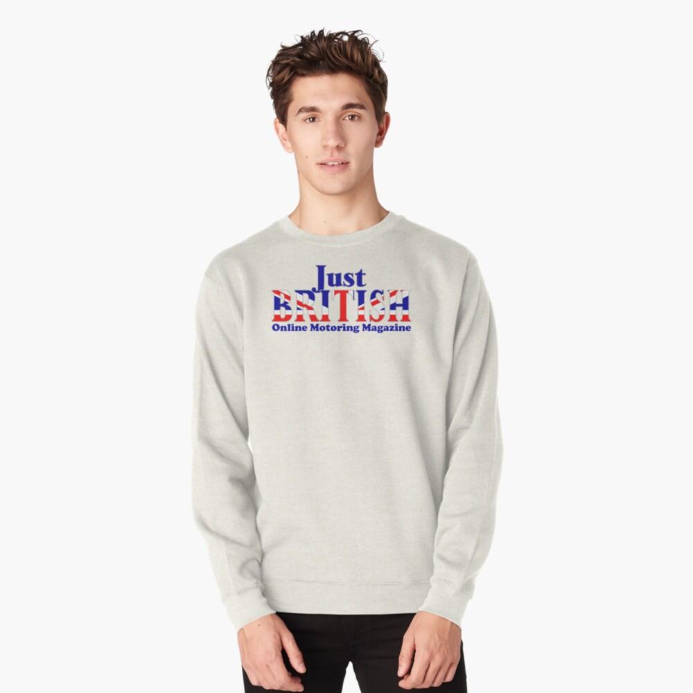 Just British Online Motoring Magazine Pullover Sweatshirt