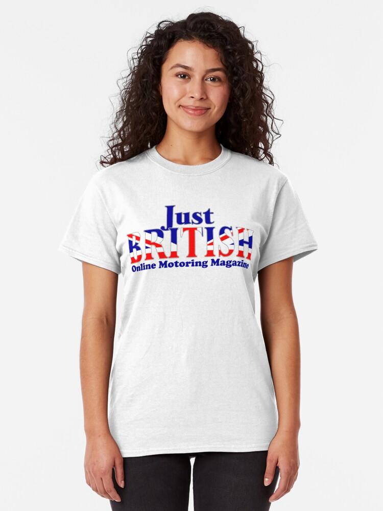 Alternate view of Just British Online Motoring Magazine Classic T-Shirt