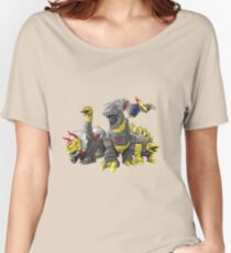 dinobot by bx brix Women's Relaxed Fit T-Shirt