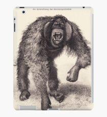 vector monkey iPad Case/Skin