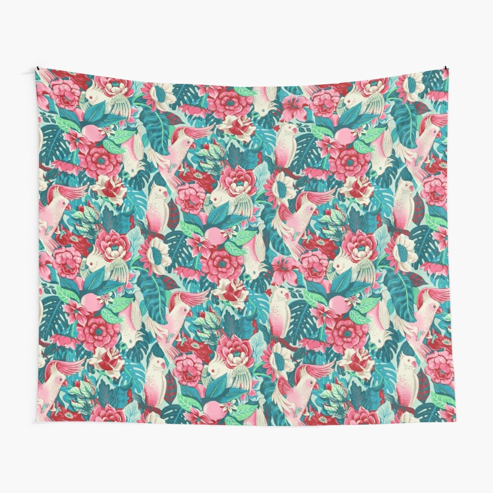 Florida Tapestry - daytime version Wall Tapestry