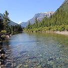 Glacier National Park Rivers by rborrows