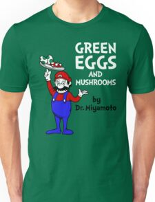 Green Eggs and Mushrooms Unisex T-Shirt