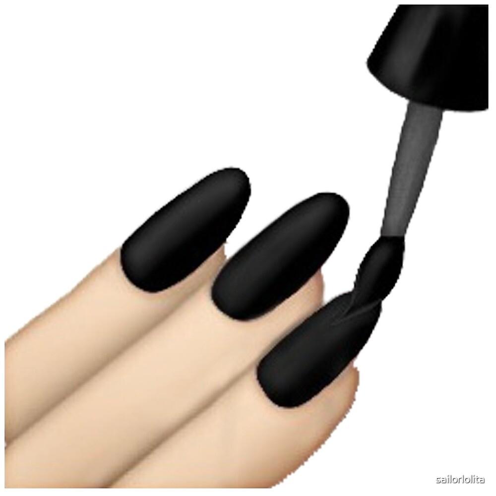 Kimoji Nails by sailorlolita