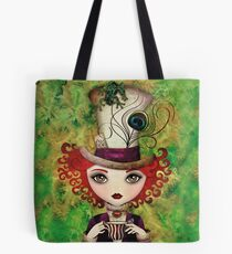 Lady Hatter Tote Bag