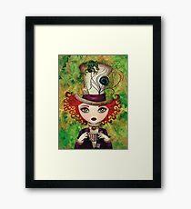 Lady Hatter Framed Print