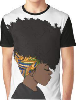 big afro Graphic T-Shirt