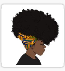 big afro Sticker