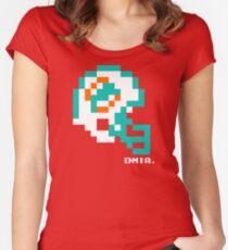 MIA Helmet - Tecmo Bowl Shirt Women's Fitted Scoop T-Shirt