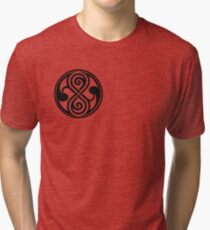 Seal of Rassilon / Seal of Gallifrey Tri-blend T-Shirt