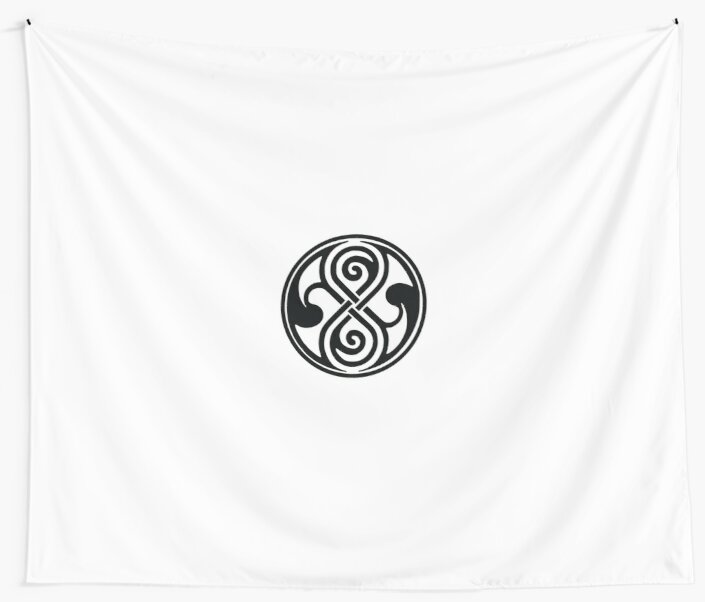 Seal Of Rassilon Seal Of Gallifrey Wall Tapestries By Raphis