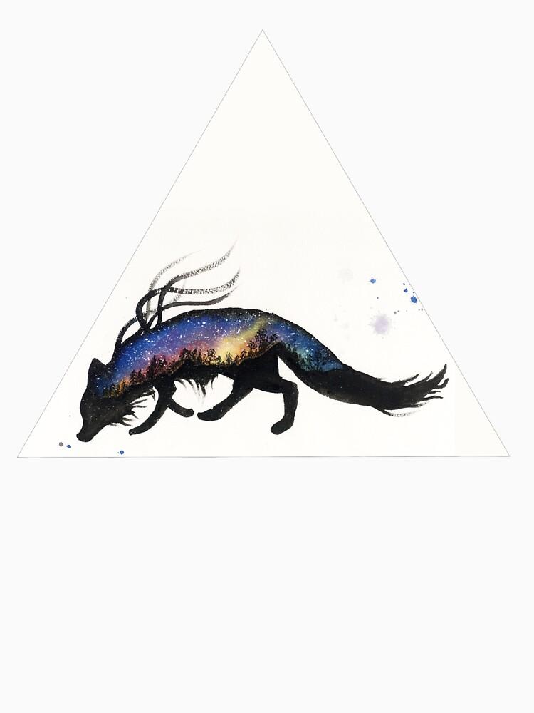 Auroa Australis Fox  by creaturesofnat