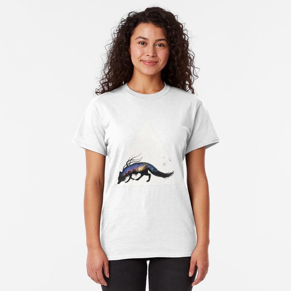 Auroa Australis Fox  Classic T-Shirt