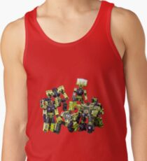 Constructicons Devastator By BX Brix Tank Top