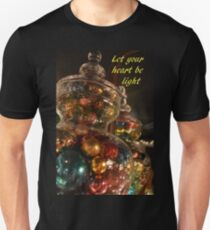 Baubles for Christmas cards Unisex T-Shirt