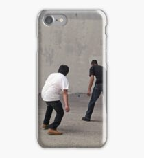 Urban Handball Match iPhone Case/Skin