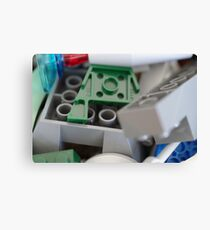 Lego Bricks Canvas Print