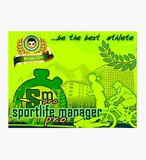 SportLifeManager Pro Photographic Print