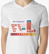 Did I Plagiarize? Mens V-Neck T-Shirt