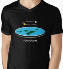 Flat Earth Theory Diagram T-Shirt