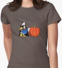 Halloween Duck - Duck Logic Women's Fitted T-Shirt