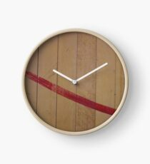 Hardwood paint Clock