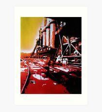Refinery Art Print