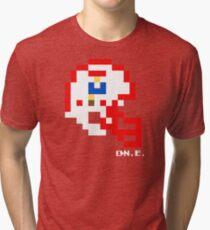 NE Original Helmet - Tecmo Bowl Shirt Tri-blend T-Shirt