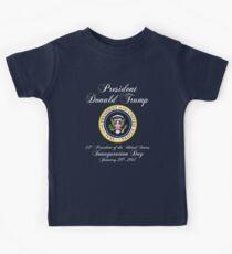 President Donald J. Trump Inauguration Day 2017 Kids Tee