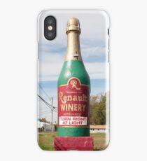 Gigantic Wine Bottle! iPhone Case/Skin