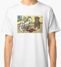 Teddy Bear and Bunny - The Price Of Freedom Classic T-Shirt
