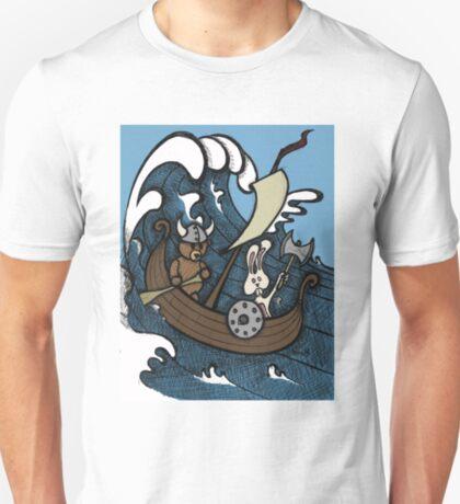 Teddy Bear And Bunny - Rape And Pillage  T-Shirt