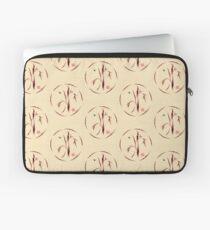 Sacred Circle - Original Enso Zen Painting Laptop Sleeve
