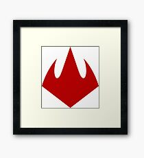 Foot Clan Logo Framed Print